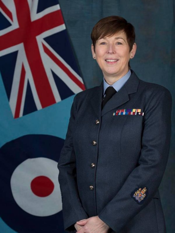 187 First Woman Appointed Squadron Warrant Officer At 71