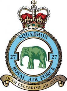 27 Squadron RAF Logo