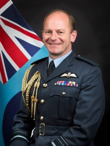 Chief of Air Staff Mike Wigston
