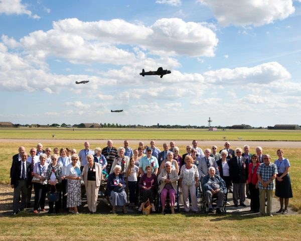 Members of the RAFA visiting RAF Coningsby