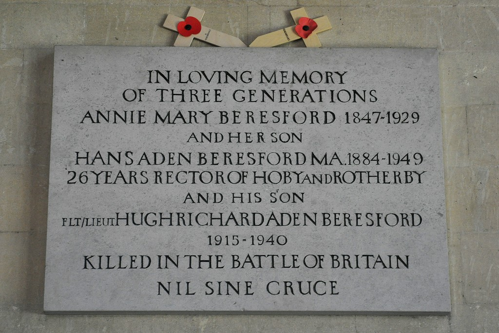 Hoby All Saints Church Memorial